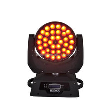 night club decor 36x10w 4in1 ZOOM LED moving head lighting