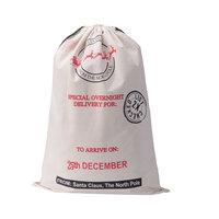 Christmas Day envelope for childrens gift drawstring bag Top environmental protection Christmas envelopes cotton bag