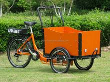 High quality three wheel cargo bike/ electric bike front cargo/ trike for passenger