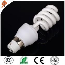 Best 8000 Hours Daylight 12W Florescent Light CFL E27 B22 Half Spiral Energy Saving Lamp