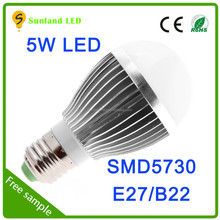 2700-3200k warm while e27 led lamp buld led