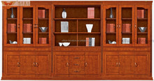 wooden bookcase filing cabinet office furniture