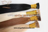 Italian glue top quality keratin bond hair extension
