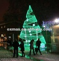 de la cinta gigante árbol de navidad del árbol del led para la decoración al aire libre