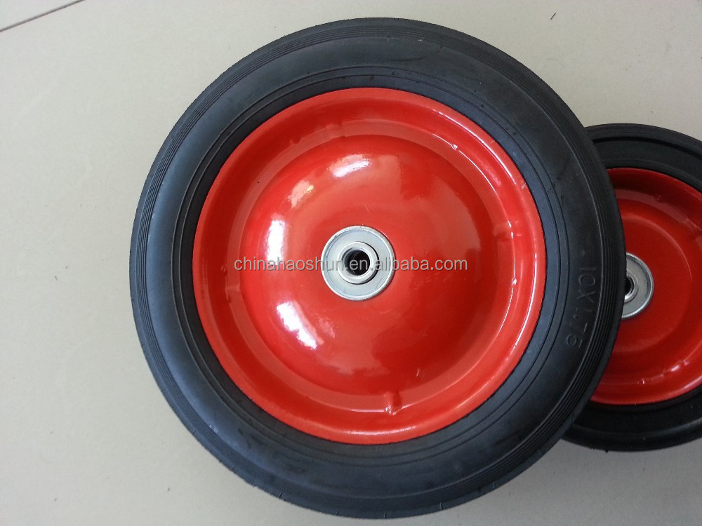 For Hard Rubber Tricycle Tires : Solid rubber wheel for baby s toy trolley kid