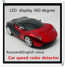 2015 best selling car accessories 360 degree Russian&English Speaker auto antiradar detector for car speed limit conquer bz box