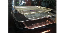 Wholesale selling everyday item &colorful (gold,rose gold) various specification stainless steel washing plate