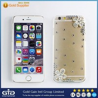 GGIT Hot Sell Shining Diamond Clear Plastic Case for iPhone 6