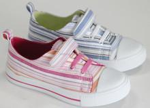 kids Buckle strap canvas shoes