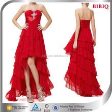 Sexy off shoulder pakistani red color bridal evening dress