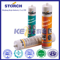 Fire-proof silicone sealant, Formed after curing silicone rubber elastomer