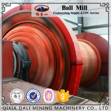 High Efficient Ball Milling Machine for Ores , Wet Type Overflow Ball Mill