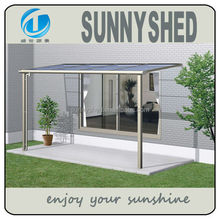 2015 Aluminum alloy frame terrace awning sturdy and elegant