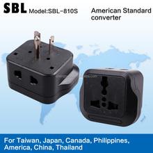 Saudi Arabia conversion plug,American standard converters,Travel adapter plugs