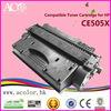 Printer Supplies CE505X Compatible Black Toner Cartridge 05X For HP Laser Printer