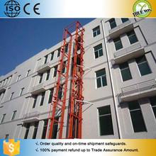 Warehouse Garage Cargo Storage Use Indoor / Outdoor Hydraulic Freight Elevator