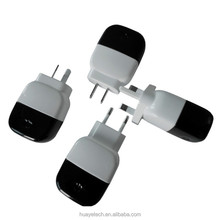 mobile accessories with AU plug sale in New Zealand,Australia with dual usb