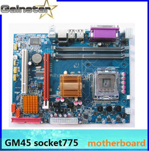 computer motherboard gm45 support LGA775 Intel Core CPU