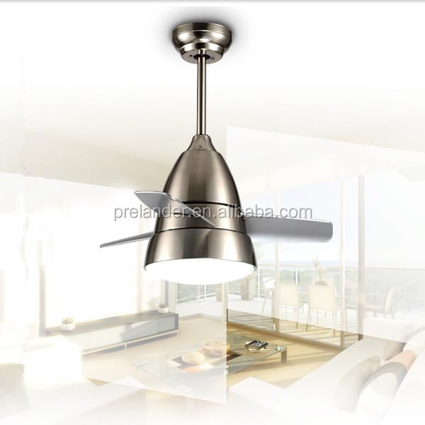 Dc Mini Fan Motor 3 Blade Decorative Lighting 26 Inch