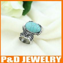 2013 de la moda al por mayor anillo turquesa
