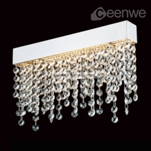 Wall delicate crystal led artistic wall sconce