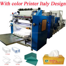 Italy Design Embossing Laminating Printing High Speed Automatic Paper Tissue Converters