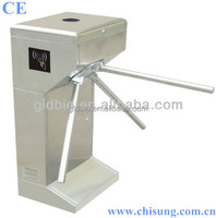high quality vertical pedestrian turnstile barrier