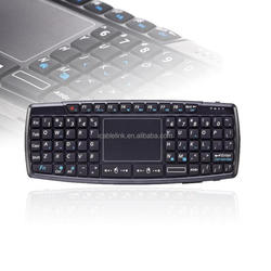2.4g mini wireless fly mouse keyboard for android with touchpad PC Android TV BOX SWTP