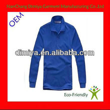Blue discount dry fit mens summer fashion polo t shirts