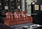 Boa qualidade e preço sofá reclinável de couro cama( ls606)