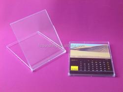 wholesale plastic transparent calendar case