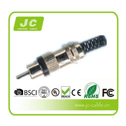 2015 newest gold-plated rca to coaxial converter