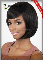 short chinese bobbi style natural black full lace wig for alibaba canada