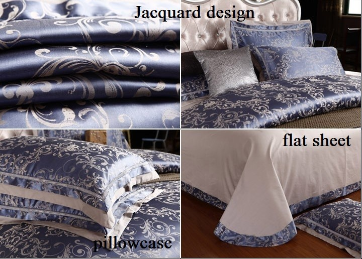 Top Grade High Quality Luxury Silk Cotton Jacquard Hotel