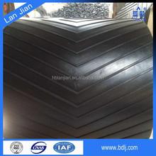 China best selling anti-wear cotton fabric endless pattern conveyor belt( Professional )