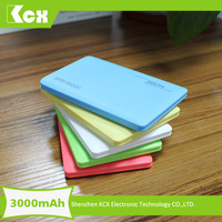 Promotional Gift credit card power bank 2600mah portable power pack for asus tablet