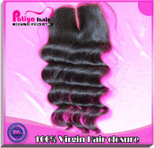High demand hair products top quality 6A middle parting cheap lace closure pieces