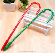 Wholesale cheap Christmas item stationery canes ballpoint pen for promotion CH-6718