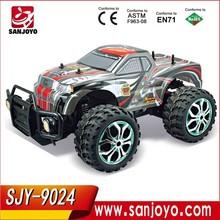 Monster Truck escala 1:8 RC 4WD Off Road serie del control de radio buggy coche 4WD del RC Monster Truck SJY-9024