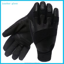 China wholesale Ladies motorbike leather gloves for wearing resistant Motorcycle and Mechine gloves leather