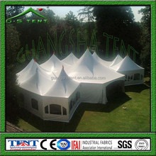 F hexagon holiday party tents indian party decorations