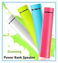 Portable emergency 4000mah universal multi function cell phone charger portable speaker power bank for samsung galaxy note 3