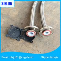 chemical fluid anti corrosion braided teflon flexible corrugated hose and pipe