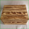 Wooden Crate Box with Drop Lid for Christmas Hampers