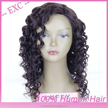 Hot popular! grade 5a soft Egyptian afro curl virgin wig