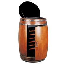 Electric madeira barril de vinho mais fresco, móveis vinho geladeira, barril de vinho refrigerador