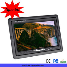 7 inch universal removable car headrest lcd monitor