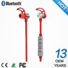 BS052RU best selling foldable neckband sport wireless headphone earphone mp3 player
