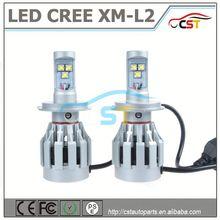 "All in one LED CREE XM-L2 H4 Hi/Lo headlight 35w/55w 4"" hid work light driving"