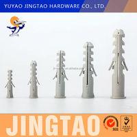 Plastic Drift bolt plug with collar anchor